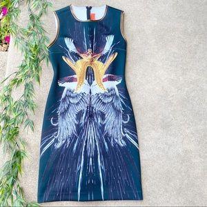 Clover Canyon Wings Neoprene Dress